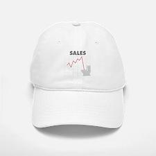 Sales in the Toilet Baseball Baseball Cap