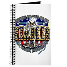 USN Navy Seabees Shield Journal