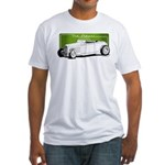 Old School Hot Rod Fitted T-Shirt