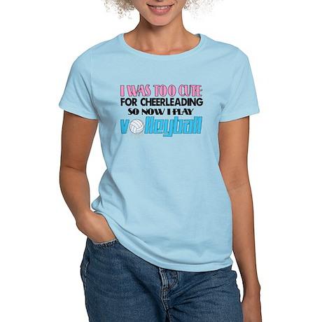 Too Cute Volleyball Women's Light T-Shirt