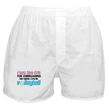 Too Cute Volleyball Boxer Shorts