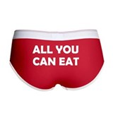 All you can eat Ladies Boy Shorts