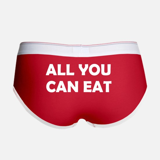 All you can eat Women's Boy Brief