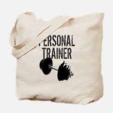 Personal Trainer Weight Training Tote Bag