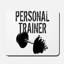 Personal Trainer Weight Training Mousepad
