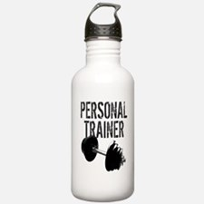 Personal Trainer Weight Training Water Bottle