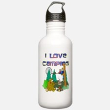 I love Camping Sports Water Bottle