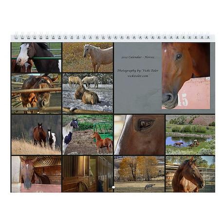 2013 Calendar - Horses