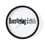 Recovering Catholic Wall Clock
