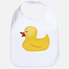 Yellow Rubber Duck Bib