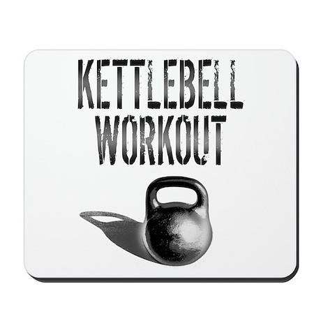 Kettlebell Workout Mousepad