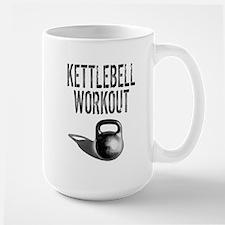 Kettlebell Workout Large Mug