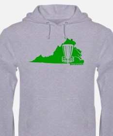 Virginia Disc Golf Catcher Hoodie