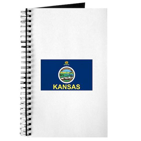 Kansas Sunflower State Flag Notebook
