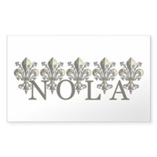 NOLA Antique Fleur Decal