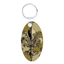 NOLA Antique Fleur Keychains