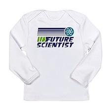 Future Scientist Long Sleeve Infant T-Shirt