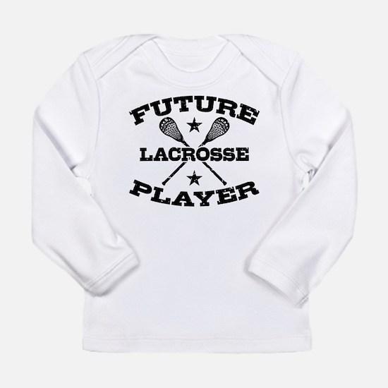 Future Lacrosse Player Long Sleeve Infant T-Shirt