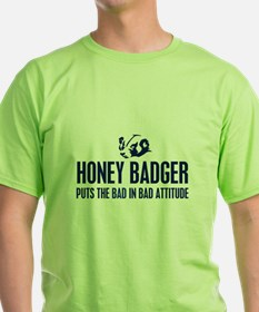 Honey Badger Characteristics T-Shirt