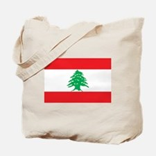 Flag of Lebanon Tote Bag