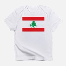 Flag of Lebanon Infant T-Shirt