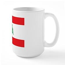 Flag of Lebanon Large Mug