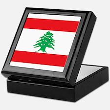 Flag of Lebanon Keepsake Box
