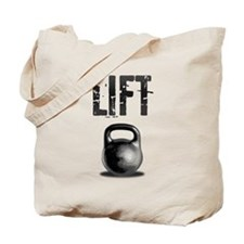 Kettlebell LIFT Workout Tote Bag