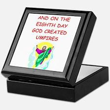 umpires Keepsake Box