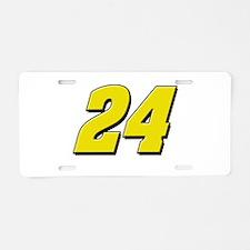 JG24 Aluminum License Plate