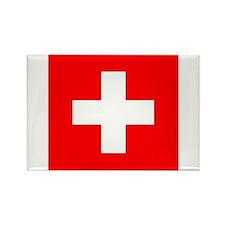 Flag of Switzerland Rectangle Magnet