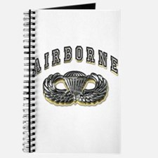 US Army Airborne Wings Silver Journal