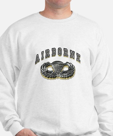 US Army Airborne Wings Silver Jumper