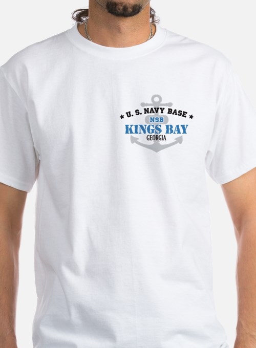 US Navy Kings Bay Base Shirt