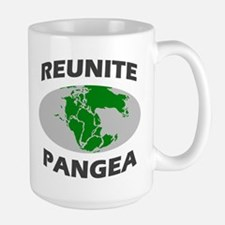 Reunite Pangea Large Mug