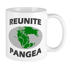 Reunite Pangea Small Mug