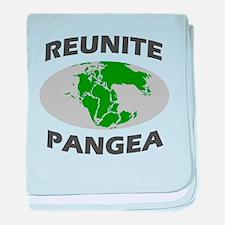 Reunite Pangea baby blanket