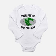 Reunite Pangea Long Sleeve Infant Bodysuit
