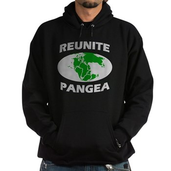 Reunite Pangea Hoodie (dark) | Gifts For A Geek | Geek T-Shirts