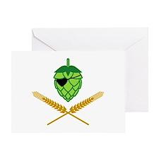 Pirate Hop Greeting Card
