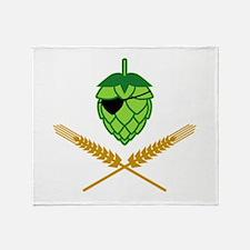 Pirate Hop Throw Blanket