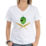 Pirate Hop Women's V-Neck T-Shirt