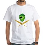 Pirate Hop White T-Shirt