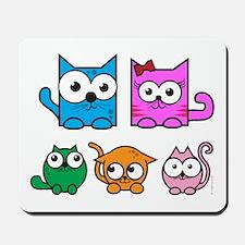 CubeCat Family Mousepad