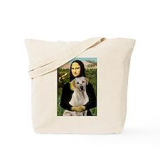 Mona & her Yellow Lab Tote Bag