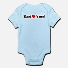 Kari loves me Infant Creeper