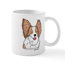 Cute Papillon puppy Mug