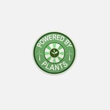 Powered By Plants Badge Mini Button