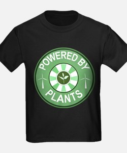 Powered By Plants Badge T