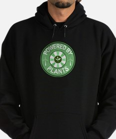 Powered By Plants Badge Hoodie (dark)